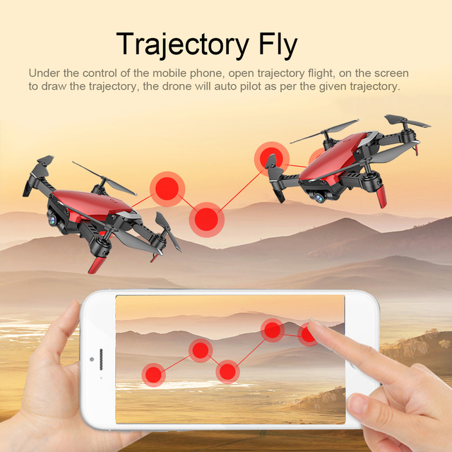 Teeggi M69 FPV Drone 4K with 1080P Wide-angle WiFi Camera HD Foldable RC Mini Quadcopter Helicopter VS VISUO XS809HW E58 X12 3