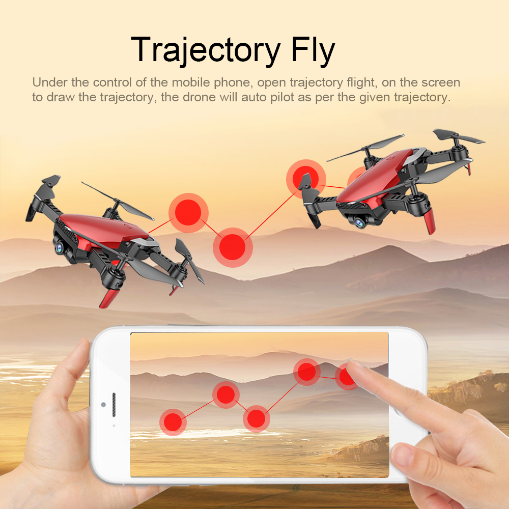 Teeggi M69 Fpv Drone With 720p Wide-angle Wifi Camera Hd Foldable Rc Mini Quadcopter Helicopter Vs Visuo Xs809hw E58 X12 Dron #5