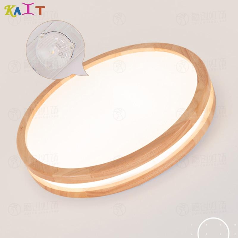 Ceiling Lights.LED Modern Acryl Wood Round rectangle Super Thin LED Lamp.LED Light.LED Ceiling Light.Ceiling Lamp For Foyer Bedr