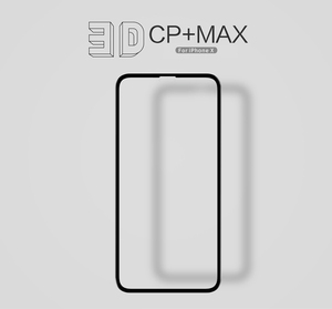 Image 2 - for iphone x screen protector fully covered nillkin 3D CP+ 9H 0.33mm thin for iPhone XS tempered glass curved  5.8 High Clear
