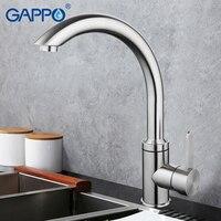 Precio Grifo de cocina de acero inoxidable de GAPPO grifo mezclador de agua grifo de cocina grifo mezclador de cocina grifo de agua de un solo agujero G4099