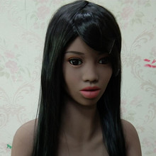 #88 Africa black girl oral sex doll head for big size love doll 135cm/140cm/148cm/153cm/152cm/155cm/158cm/163cm/165cm/170cm