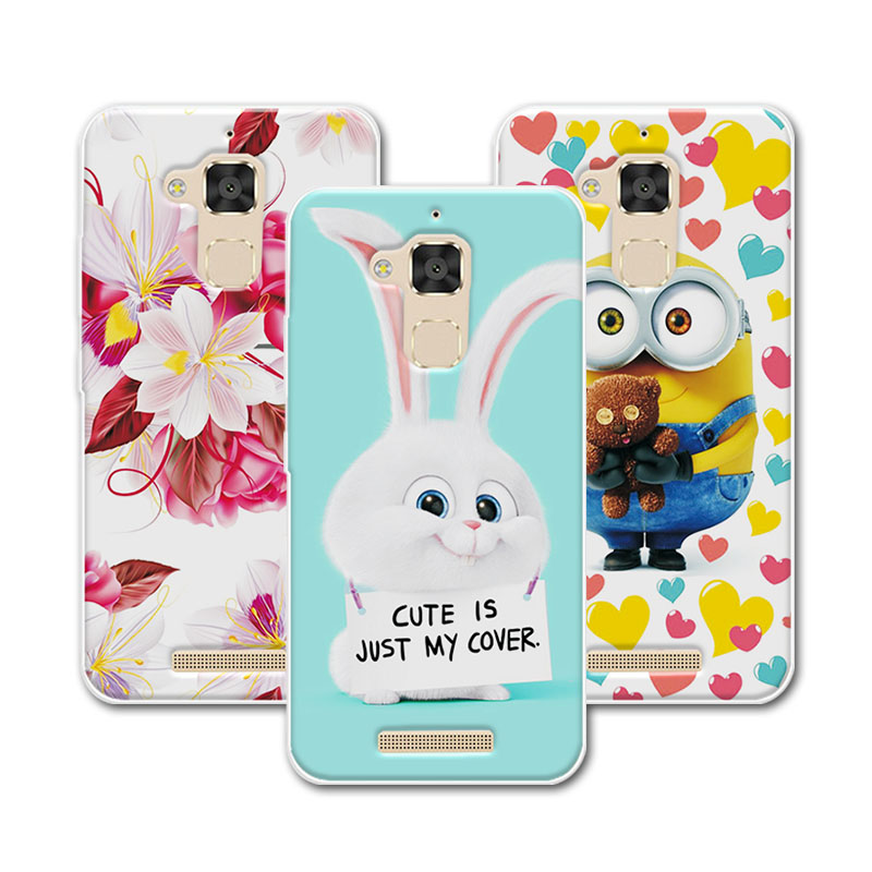buy cute cartoon soft silicone case coque for asus zenfone 3 max zc520tl. Black Bedroom Furniture Sets. Home Design Ideas
