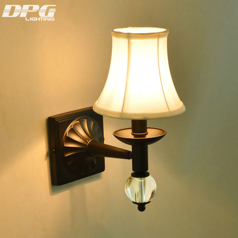 Aliexpress.com : Buy Led Modern Iron crystal wall lamp ... on Wall Sconces Modern id=42082