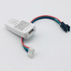 Image 3 - Usb 5v rgb led luz de tira 2812b 144led/m sp110e bluetooth controlador tv backlight sonho cor flash listra decoração