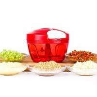 Handy Vegetable Cutters Carved Food Chopper Machine Meat Fruit Shredder Slicer Plastic Garlic Press Kitchen Accessories