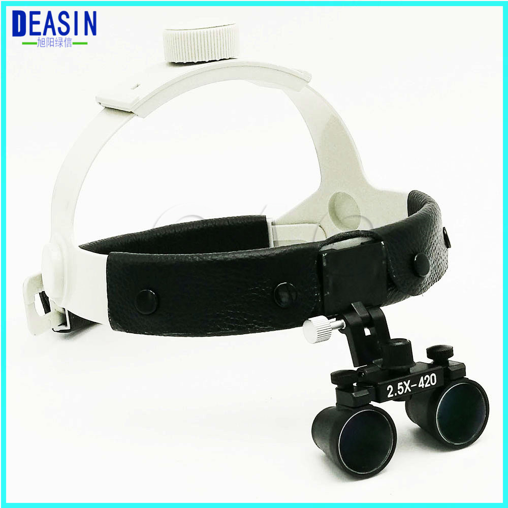 где купить Hot sale 2.5X Medical Magnifier All in Ones operation lamp surgical headlight and Dental Loupes дешево