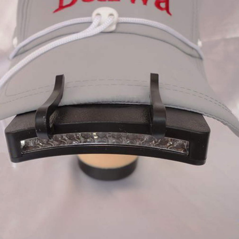 11 LED Clip On Cap Hat Light Camping Walking Working Jogging New Arrival