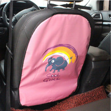 Universal Car Seat Back Protector Protection for Children kids Kick Mat Cartoon Anti Organiser Seats Covers Baby