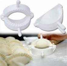 2015 Pack dumpling machine Small tool Home plastic 8CM Dough Press Dumpling Pie Ravioli Mold Mould Maker Cooking Pastry tools стоимость
