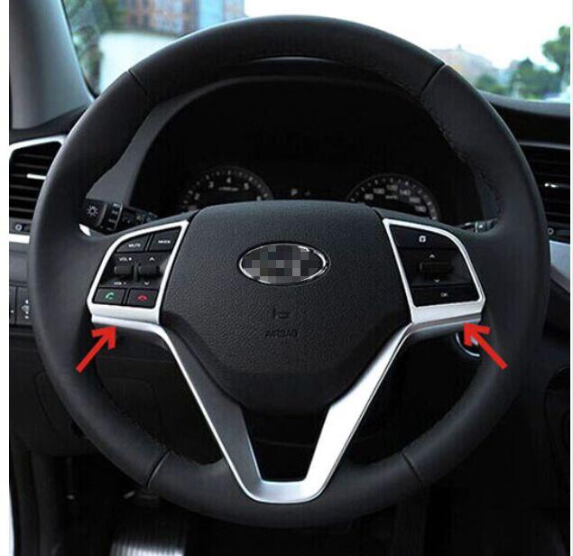 2015 Hyundai Tucson Interior: FIT FOR 2015 16 HYUNDAI TUCSON TL CHROME INTERIOR STEERING