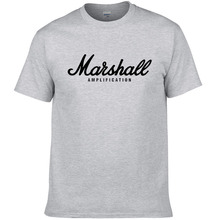 100% cotton Marshall short sleeves hip hop streetwear for men