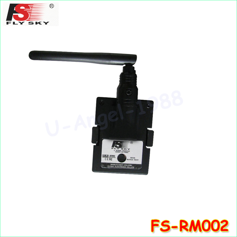 100% Original Flysky Fly Sky FS-RM002 2.4G Module with Antenna For FS-TH9X Transmitter R ...