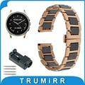 22mm faixa de relógio de cerâmica para o vetor luna/meridian butterfly Cinto de fivela Correia de Pulso Pulseira Rosa Negra Ouro Branco + ferramenta