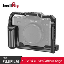 SmallRig XT30 Cage for Fujifilm X-T30 and X-T20 Camera Feature with QR Arca Compatible Dovetail Plate on the Bottom CCF2356(China)