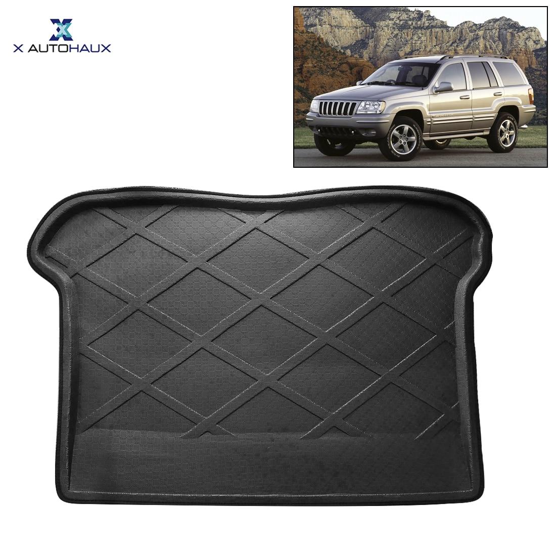 X Autohaux PE + EVA пенопластовый черный резиновый задний багажник автомобиля Грузовой поднос крышка пол ковер коврик для Jeep Grand Cherokee 2008 2010