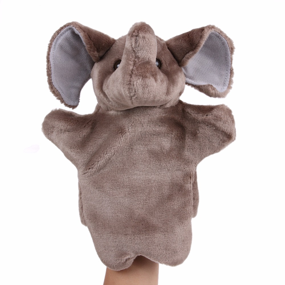 Cartoon-Elephant-Hand-Puppet-For-Chrismas-Gift-Child-Gift-Soft-Doll-Plush-Hand-Puppets-Toys-Soft-Plush-Stuffed-Interactive-Toy-1