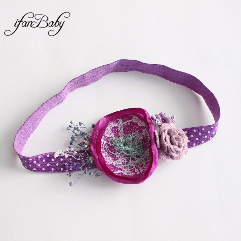 kids girl nylon flower headband (31)