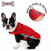 DogLemi Pet Winter Padded Coat Warm Fleece Waterprorf Jacket Puppy And Large Dog Winter Warm Coat