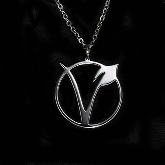 Veganism Symbol Shaped Pendant Necklace 12 Pcs Set