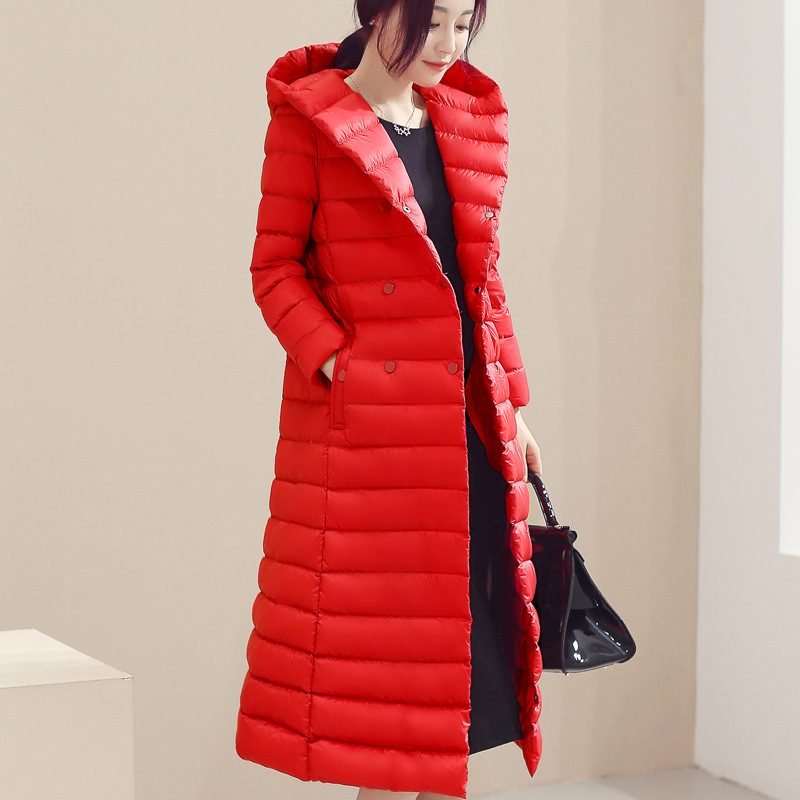 womwn's jacket 17 winter duck down jacket women long coat parkas thickening Female Warm Clothes Rabbit fur collar High Quality fashion 2016 lengthen parkas female women winter coat thickening down winter jacket women outwear parkas for women winter w0033