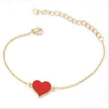 Ahmed Jewelry Sale Good Quality 3 Colors Heart Bracelet For Woman 2015 New bracelets bangles factory