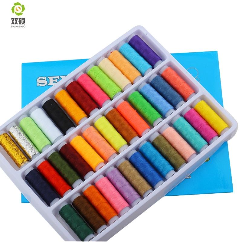 Color random no402 sewing machine thread hand stiching for Random diys