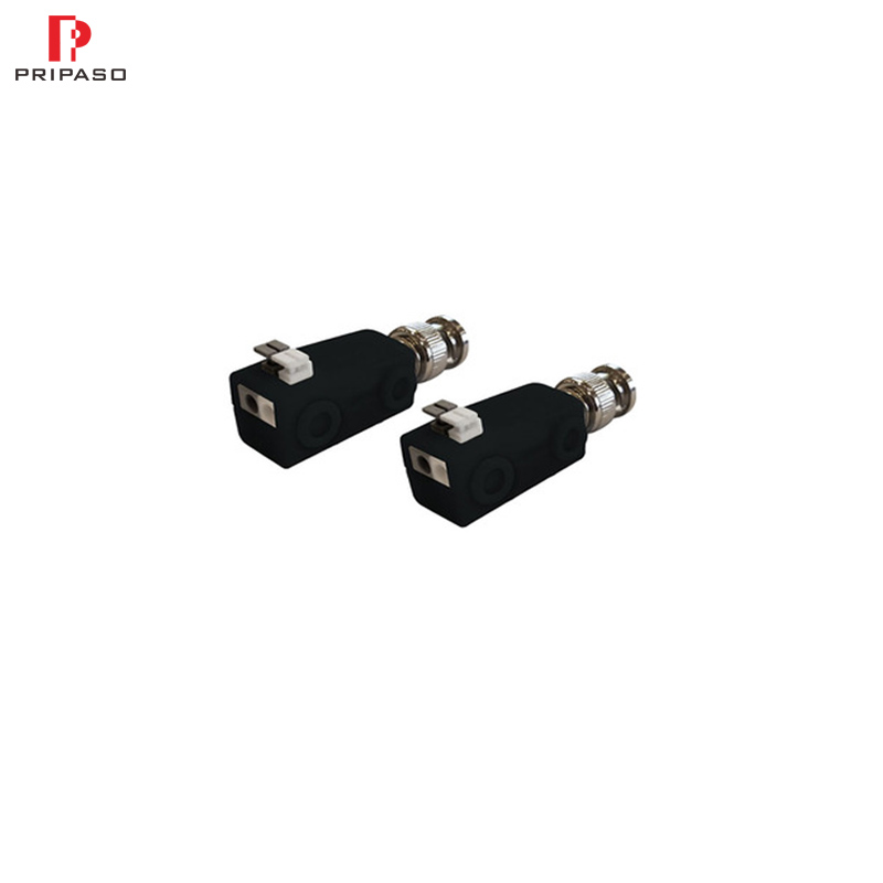 1Pair HD Video Transceiver CVI TVI AHD CVBS 4 In 1 4K 8MP Video Balun With Upside Push-terminal Passive Twisted Pair Transmitter