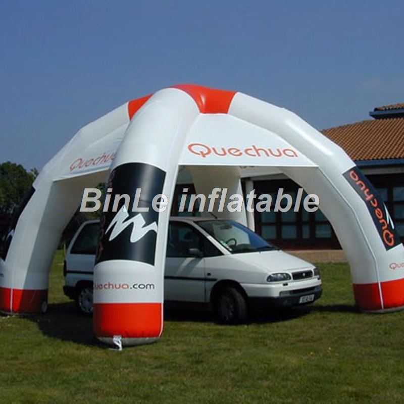 Customized 6m spider advertising inflatable tent for car exhibition new commercial inflatable dome tent for sale 6 4 4m bounce house combo pool and slide used commercial bounce houses for sale