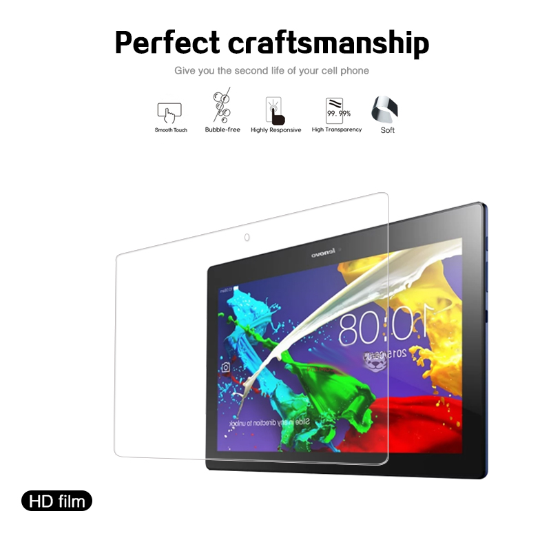 Premium Clear Glossy Screen Protector Film For Lenovo TAB10 TAB2 A10-30 X103F Front HD LCD Screen Protective Films