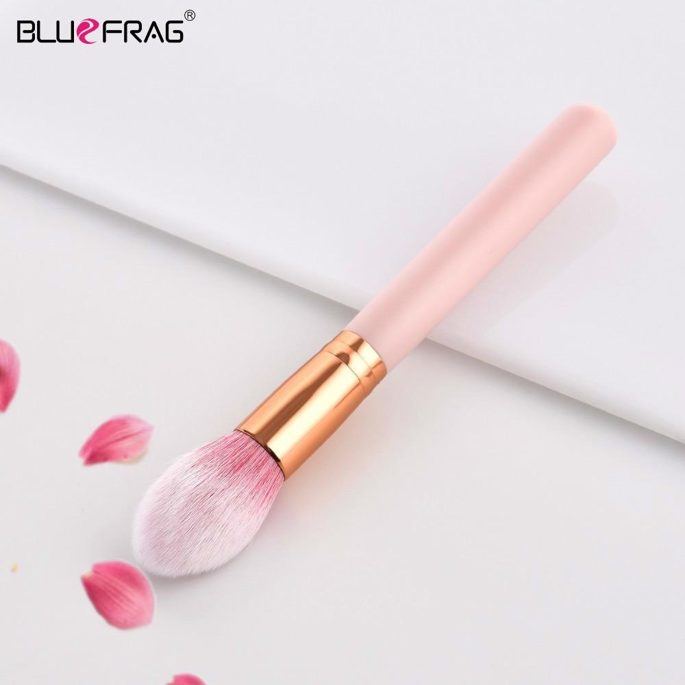 BLUEFRAG Flame Highlighter Brush Professional Brand High Quality Pink Rose Gold Face Makeup Brushes Tapered Highlighter Brush