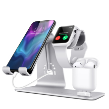 BESTAND 3 in 1 stand for Apple iPhone and watch and AIRPODS charging bracket aluminum alloy stand