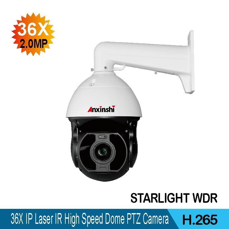 "2MP IR 20m outdoor 2.5/"" mini PTZ network metal IP High Speed dome camera 3X zoom"