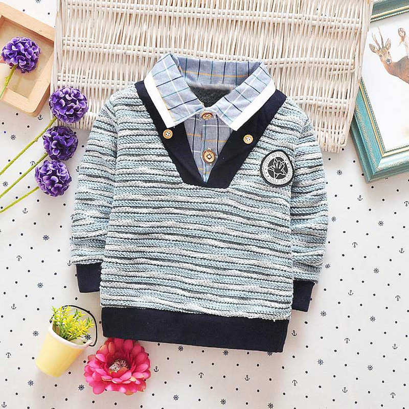 Autumn-Spring-Casual-Baby-Babi-Children-Clothing-Boys-Infants-Striped-Cotton-Long-Sleeve-T-shirt-Tops-Tee-S1034-4