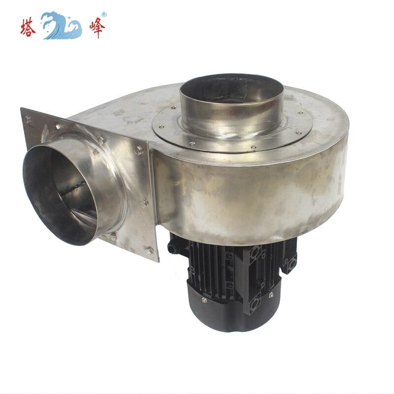 aço inoxidável resistente À Corrosão centrífuga ventilador