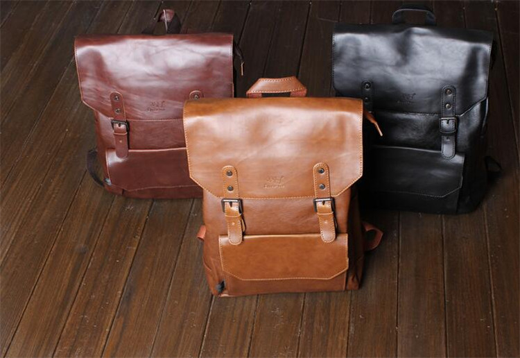 men leather backpack04