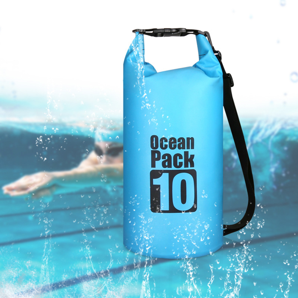 10/15/20/30L Outdoor Waterproof Dry Dry Bag Sack Waterproof Floating Dry Gear Bags For Boating Fishing Rafting Swimming Kayak