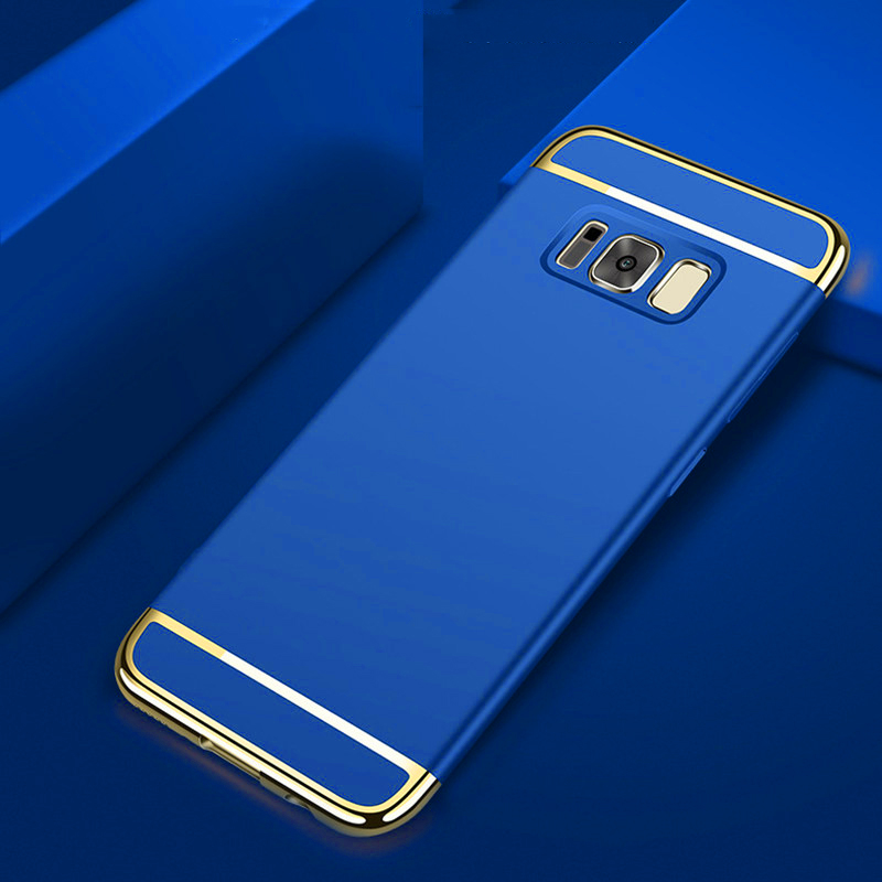 För Samsung S8 Plus fodral Samsung Galaxy S8 fodral hårt ryggskydd - Reservdelar och tillbehör för mobiltelefoner - Foto 3