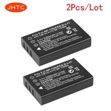 JHTC 2Pcs/lot 2200mAh NP-120 FNP120 NP120 Camera Battery for Fujifilm FinePix F10 F11 Zoom M603 MX4 603  bateria celular
