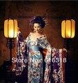 Clássico Exotic quimono japonês Sexy da mulher roupas fotografia traje Set ( vestido + cinto, Sem Kimono Backpack )