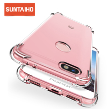 Suntaiho Airbag drop prevention Case for Huawei Mate 20 Pro Shockproof phone case for Huawei P20 Lite for honor 8x 9 Lite P10