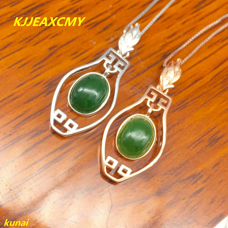 boutique jewels 925 silver inlaid with natural Jasper female Pendant (necklace) wholesale female geometry