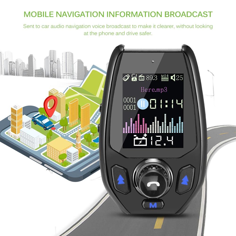 fm transmitter bluetooth car