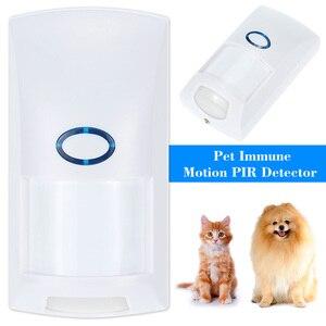 Image 2 - JeaTone Sem Fio Pet Imune PIR Sensor De Movimento Detector 433 Mhz Home Security Motion Sensor Infravermelho Detector Para Sistema De Alarme
