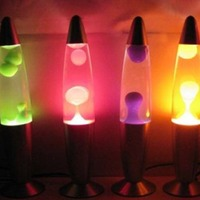 Cute 110V Metal Base Lava Lamp Wax Volcano Style Night Light Jellyfish Nightlight Bedroom Glare Incandescent Lava Lighting Lamps