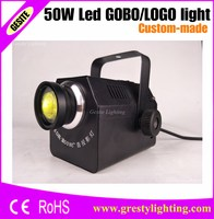 50W Customized LED Gobo Advertising Logo Projector Light Ceiling Type
