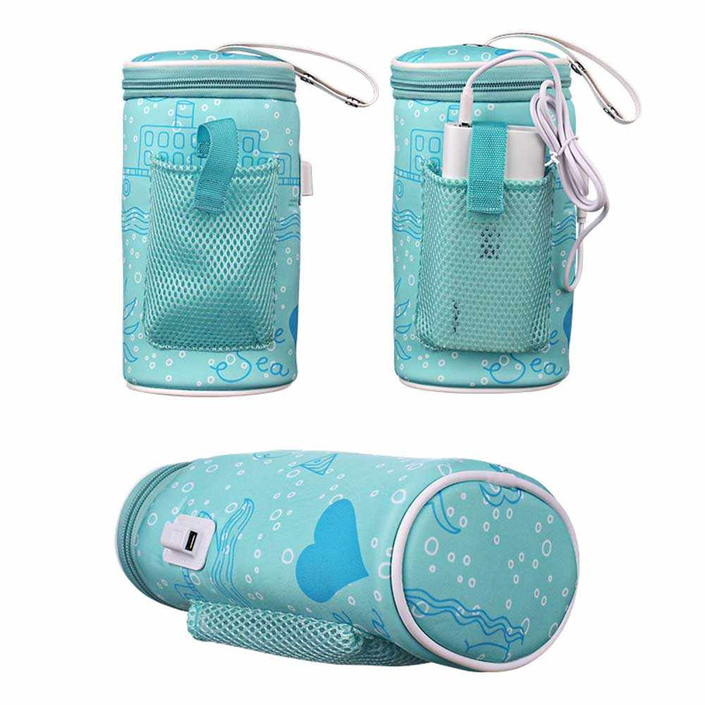 Thermos Can Be Hung On Stroller Bottle Bag Baby Bottle Bag Insulation USB Intelligent Heating Warm Cover Water Cup Bag