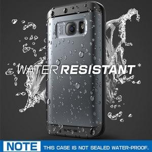 Image 2 - Für Samsung Galaxy S7 Fall SUPCASE Wasserdicht Voll Körper Robuste Fall mit Integrierten Bildschirm Protector + 3 Austauschbar abdeckungen
