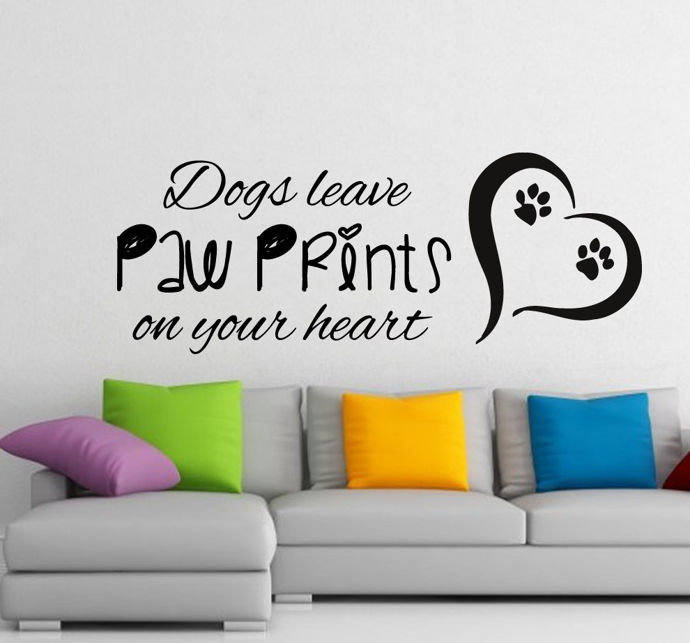 Large Quotes Don\'t Leave Prints Simple Style Wall Decals Home Decor ...