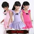New Child Kids Princess Girls Ballet Costume Leotards Tutu Dance Dress Skirt Dress Girls Dancing Clothes Dancewear 100% Cotton